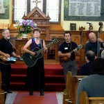 Amy Gallatin and Stillwaters at The Big Bluegrass Gospel Service, St. Ninian's Kirk 2010