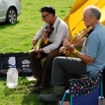 Jamming at the campsite