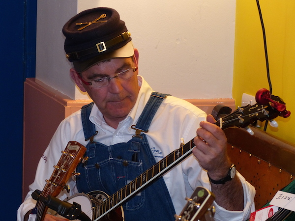 William on Banjo