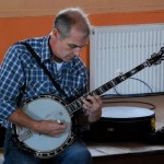 Johnny Butten teaching banjo